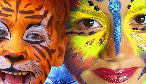 Carnevale, trucco per bimbi: foto