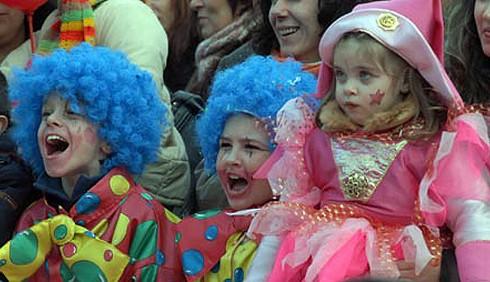 Carnevale e bambini, foto