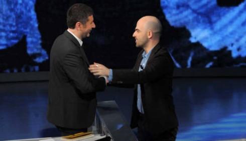 Roberto Saviano e Fabio Fazio tornano in TV