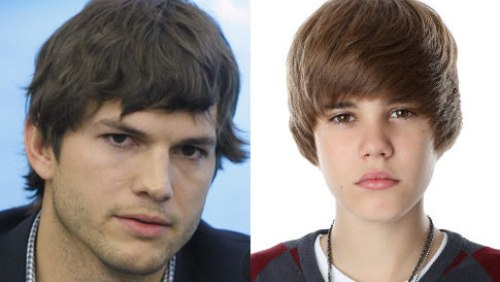 Justin Bieber e Ashton Kutcher in What Would Kenny Do?