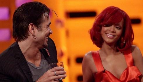Rihanna non esce con Colin Farrell
