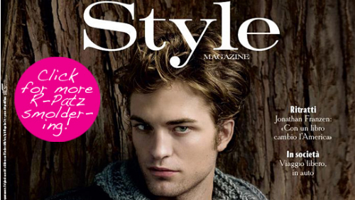 Robert Pattinson romantico come Edward Cullen