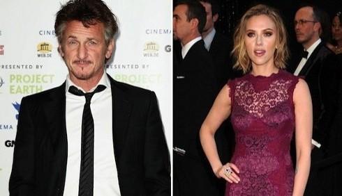 Scarlett Johansson e Sean Penn romantici a Los Angeles