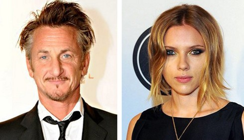 Scarlett Johansson e Sean Penn escono allo scoperto