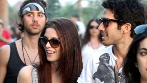 Ashley Greene con Jared Followill al Coachella