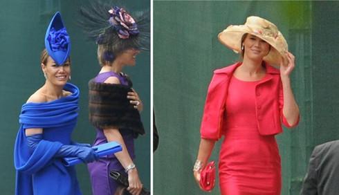 I look degli invitati al Royal Wedding