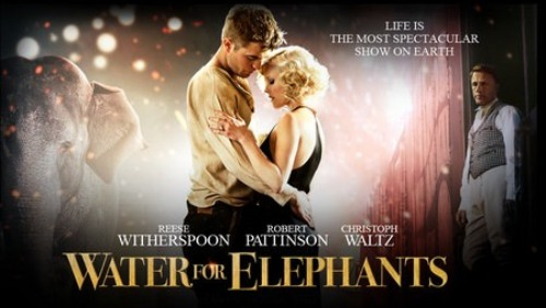 Water for elephants: nuove foto