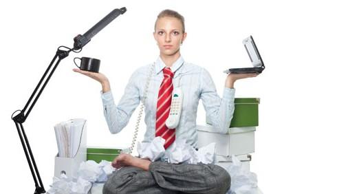 Esercizi Yoga da fare in ufficio