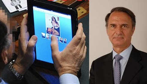 iPad in Parlamento