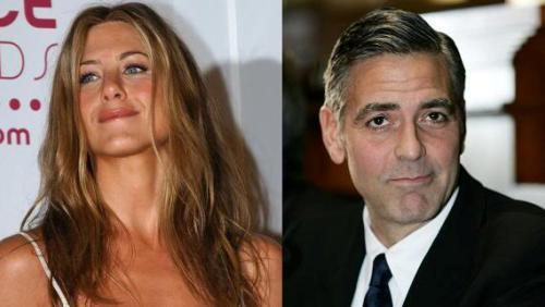 Jennifer Aniston e George Clooney: foto