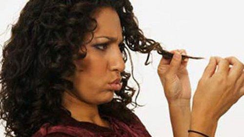 Permanente capelli processo chimico