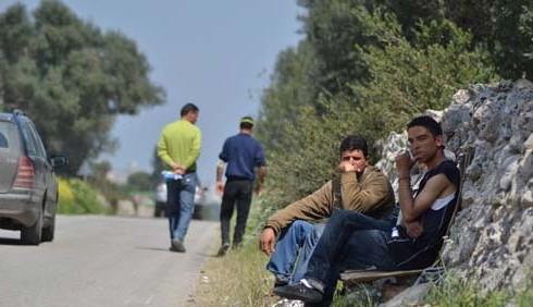 Immigrati a Manduria: foto