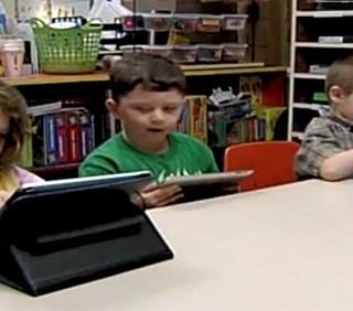 Negli USA bambini all'asilo con l'iPad