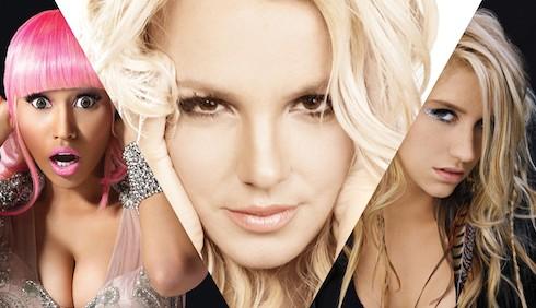 Britney Spears con Ke$ha e Nicki Minaj in Till the world ends