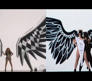 Beyoncé copia Lorella Cuccarini?