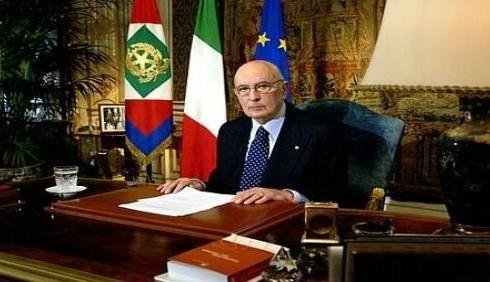 Giorgio Napolitano difende i gay