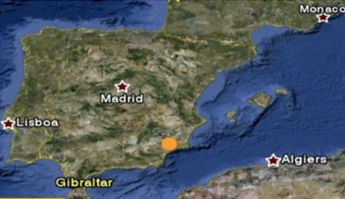 Forte terremoto nel sud della Spagna