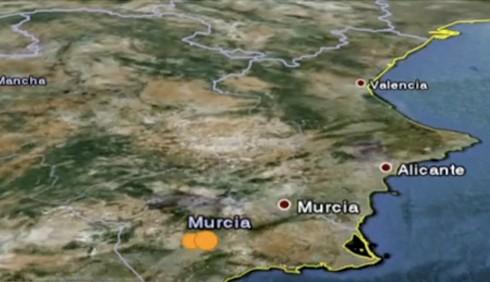 Terremoto in Spagna, foto