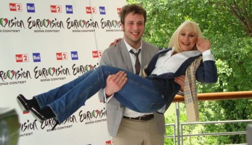 Eurovision Song Contest 2011 con Raphael Gualazzi e Raffaella Carrà