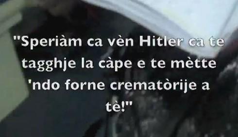 Controllore invoca Adolf Hitler contro gli immigrati