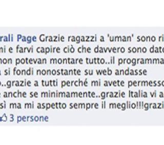Elena Morali: a uMan Take Control mancano i fondi