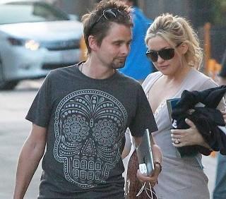 Matt Bellamy e Kate Hudson presto genitori