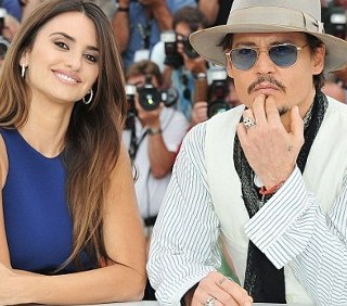 Penelope Cruz e Johnny Depp a Cannes