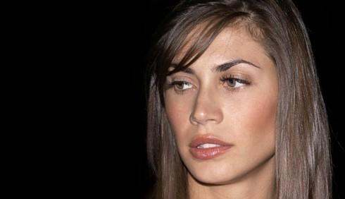 Melissa Satta in lacrime per Christian Vieri