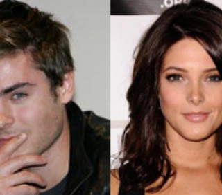 Ashley Greene e Zac Efron, foto