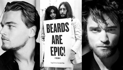 Torna la barba come arma di seduzione