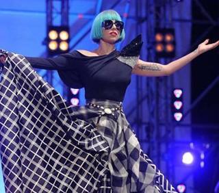 Lady Gaga all'Europride di Roma, foto