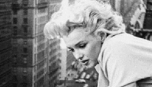 Marilyn Monroe in Quando la moglie è in vacanza