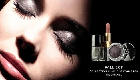 Le immagini della collezione Illusion D'Ombres firmata Chanel