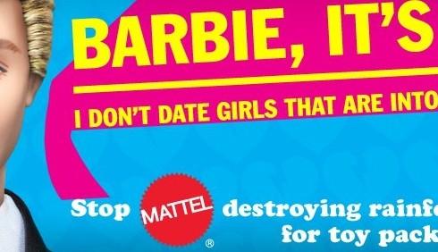 Greenpeace contro Barbie