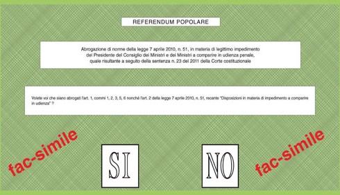 Referendum: quorum raggiunto