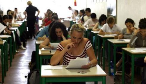 Professori, studenti e videofonini, le foto