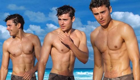 Zac Efron nudo