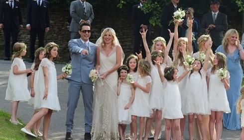 Kate Moss e Jamie Hince, matrimonio rock