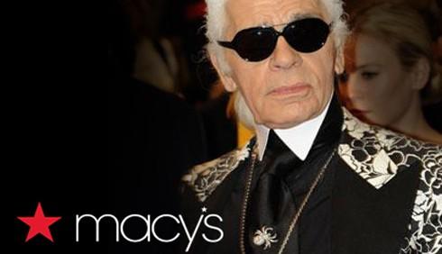 Karl Lagerfeld: moda low cost per Macy's