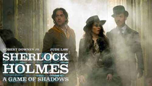 Sherlock Holmes 2: a game of shadows, primo trailer