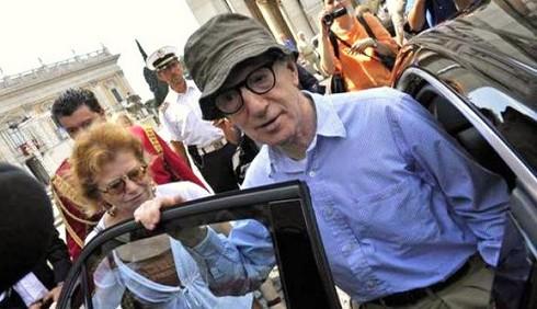 Iniziano le riprese a Roma del film di Woody Allen