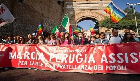 In 200.000 alla Marcia della Pace di Assisi