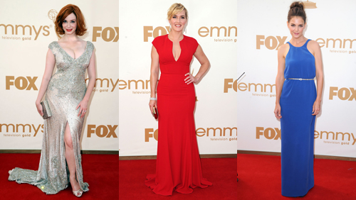 Emmy: la moda corre sul red carpet