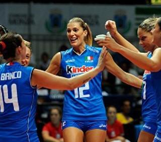 Europei di pallavolo femminile: Italia batte Olanda