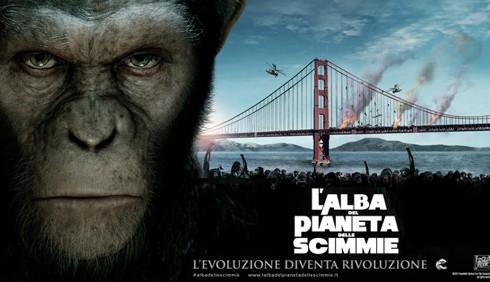L'alba del pianeta delle scimmie: recensione