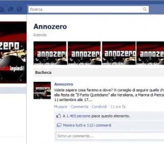 Michele Santoro: Annozero riparte da Facebook