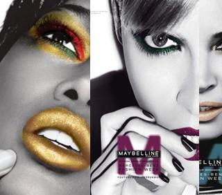 Maybelline: make-up sponsor della Mercedes-Benz Fashion Week