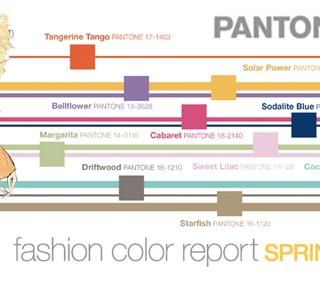 Mercedes-Benz Fashion Week: i colori secondo Pantone