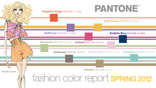 Mercedes-Benz Fashion Week: i colori secondo Pantone