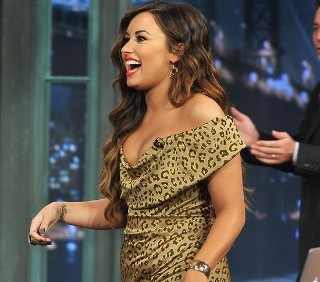 Demi Lovato al Late Night